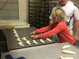 Brot backen, Bäckerei Hauger 2018