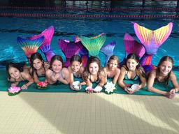 Meerjungfrauen-Schwimmen 2016