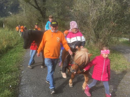 Mit dem Pony unterwegs im Reussdelta, 2020